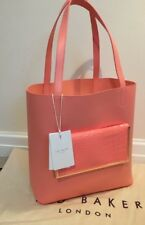 072f7958756bb TED BAKER LEATHER EXOTIC SHOPPER BAG   PURSE ⭐️IVALYN⭐️NEW ⭐️AUTHENTIC TAG