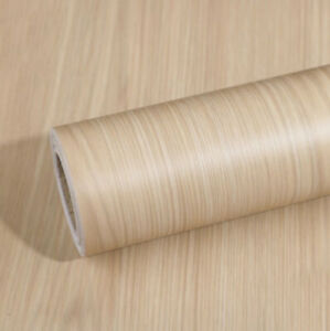 Beige Wood Wallpaper Vintage Peel and Stick Contact Paper Self Adhesive