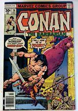 Conan the Barbarian #76 Marvel 1977 VF- Bronze Age Comic Book 1st Print