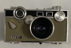 Argus C3 Vintage Camera With Case