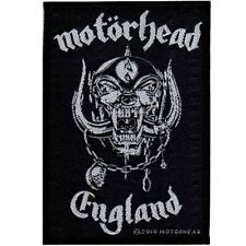 Motorhead England Woven Patch Official New