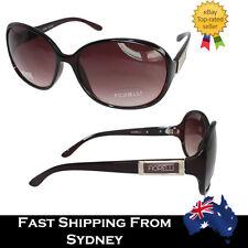 ed5f281ffba Fiorelli Designer Big Round Women Sunglasses Celebrity Brown Gradient  Vintage