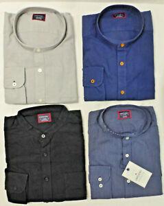 UNTUCKit Mens LS Collarless Dress Casual Shirt, Various Colors / Sizes, NWT