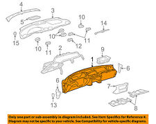 Pontiac GM OEM 03-05 Sunfire Instrument Panel-Dash 22719140