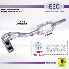 EEC CATALYST VO6002T TYPE APPROVED VOLVO S40 V40 B4164S2 B4184S2 PETROL FREE KIT
