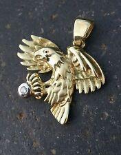 Anhänger Adler mit Zirkonia Gold 333 Gelbgold