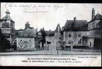 ELINCOURT-SAINTE-MARGUERITE (60) CHATEAU de BELLINGLISE du XVI° Siécle en 1918