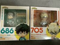 Nendoroid My Hero Academia Midoriya Izuku 686 & Bakugo Katsuki 705 Heroes figure