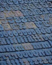 Letterpress Wood Printing Blocks 181pcs 213 Tall Wooden Type Woodtype Alphabet