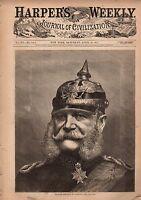 1871 Harpers Weekly April 29-New Zealand;KKK; Hero Dogs; Sea Serpents; Duluth MN