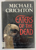 Eaters Of The Dead by Michael Crichton 1976 1st Edition Hardcover Book