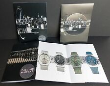 SWATCH IRONY CHRONO (The Time Machine) 2013 2014 CARTELLA STAMPA PRESS KIT CON CD