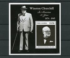 Gambia 2015 MNH Winston Churchill in Memoriam 50 Years 1874-1965 1v S/S Stamps
