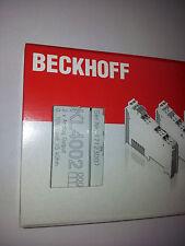 Beckhoff  2-Kanal Analog-Ausgangsklemme 0...10V, 12Bit, KL4002, OVP