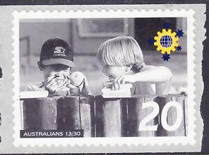 Australia Cinderella Australians No 13 Mint Peel & Stick