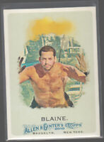 DAVID BLAINE 2010 Topps Allen & Ginter World Champions #272 Magician