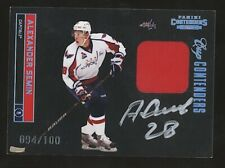 2011-12 Panini Cup Contenders ALEXANDER SEMIN Auto Patch Black /100 Capitals