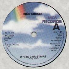 "BING CROSBY White Christmas  7"" B/W God Rest Ye Merry Gentleman, Bc 111"