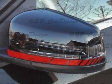 SPECCHIETTI ADESIVI STRISCE STRIPES F. Mercedes Benz w117 w176 w204 w212 AMG