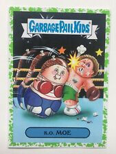 Garbage Pail Kids Topps Sticker 2016 American As Apple Pie K.O. Moe 3b Green