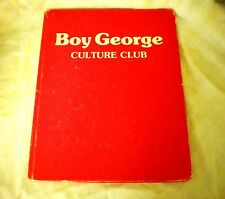 Boy George And Culture Club Hardcover Book Maria David 1984 With Extra Clips