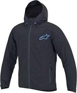 New Men's Alpinestars Tornado  Air Jacket ~ Black/Blue ~XL~ 2820-3241