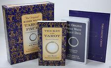 ORIGINAL FAMOUS RIDER WAITE TAROT CARDS DECK PAMELA COLMAN SMITH TUDOR ROSE NIB