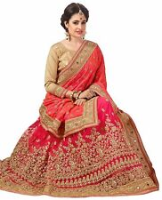 Indian SarI Embroiderk work Designer Bridal party wear wedding women's n Blouse