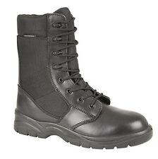 Unbranded Men's Combat 100% Leather Boots