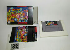 Super Bomberman 2 (Super Nintendo Entertainment System, 1994) Complete CIB SNES