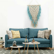 Art Handmade Woven Macrame Tapestry New Bohemian Chic Wall Hanging Tapestry Deco