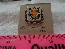 163rd Medical Battalion 22M Unit Crest, DI, DUI (DRAW#X3)