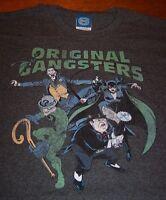BATMAN VILLAINS ORIGINAL GANGSTERS JOKER RIDDLER PENGUIN Dc Comics T-Shirt 4XL