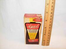 Vintage Lysol 2 oz Small Size - empty bottle -