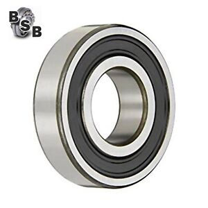 6205 2RS DEEP GROOVE BALL BEARING RUBBER SEALED  25 X 52 X 15