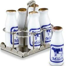 Old Fashioned Filled Milk Carrier Reutter 1.412/5 Metal Dollhouse Miniature
