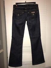 New Hudson Jeans Signature Collin Flap Pocket Bootcut Dark Wash Denim 28x30 $198