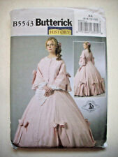 Civil War dress costume  GWTW gown pattern 5543 size 6 8 10 12 uncut