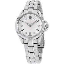 Wenger Stainless Steel GST MOP Dial Ladies Watch at DISCOUNT PRICE
