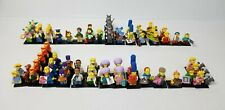 Huge Lot LEGO The Simpsons Complete Minifigures Sets Of Series 1 & 2