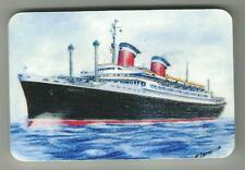 Fridge Magnets ...ss AMERICA...Ocean Liner...Original Art Work
