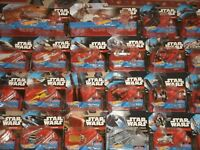 Hot Wheels Star Wars Die-Cast Vehicles: Tie-Fighters, Millennium Falcon, X-Wing