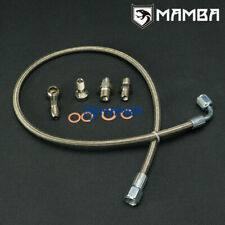 MAMBA Turbo Oil Feed Line Kit For Hyundai's Genesis 2.0T Coupe with TD05 TD06