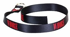 WHORE Lace Sexy Fetish Choker Punk Gothic Rock Sexy ID Collar