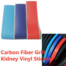 "10"" M-Colored Kidney Grill Stripe Decal Sticker Decoration For BMW M3 M5 M6 E46"