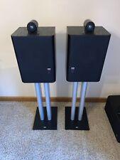 Bowers & Wilkins Matrix 805 Audiophile Stereo Bookshelf Speakers Pair & Stands