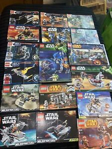 lego star wars instructions only