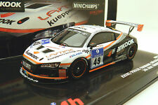 Minichamps 437 101949 Audi R8 Nurburgring 24Hrs 2010 #49 Hankook 1:43 resin