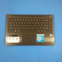"HP Pavilion X360 M3-U001dx 13.3"" Genuine Palmrest Keyboard Touchpad 856038-001"