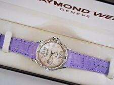 Mint Raymond Weil Womens Tango 5590 Diamond Swiss Quartz Watch with Box